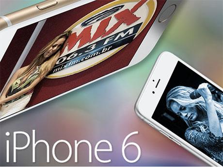 Promoção Mix Fm Lexa + Iphone 6
