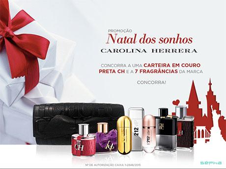 Promoção Sépha Natal Dos Sonhos Carolina Herrera