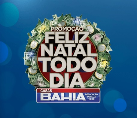 Promoção Casas Bahia Feliz Natal Todo Dia