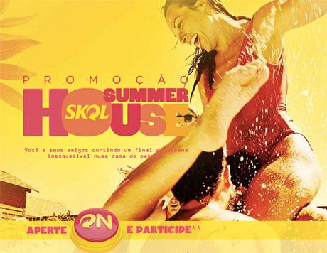 Promoção Skol Summer House