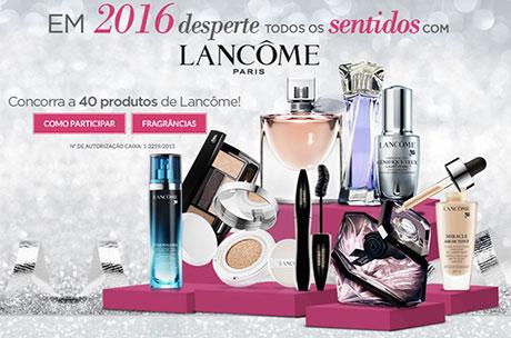 Promoção Em 2016 Desperte Todos Os Sentidos Com Lancôme