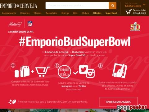 Concurso Empório Bud Super Bowl