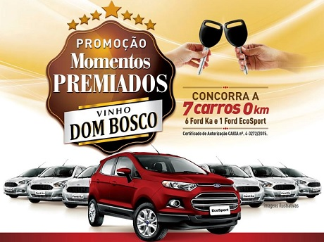 Promoção Momentos Premiados Vinho Dom Bosco