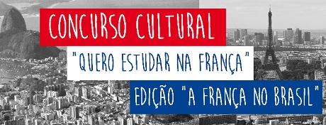 Concurso Cultural Quero Estudar Na França