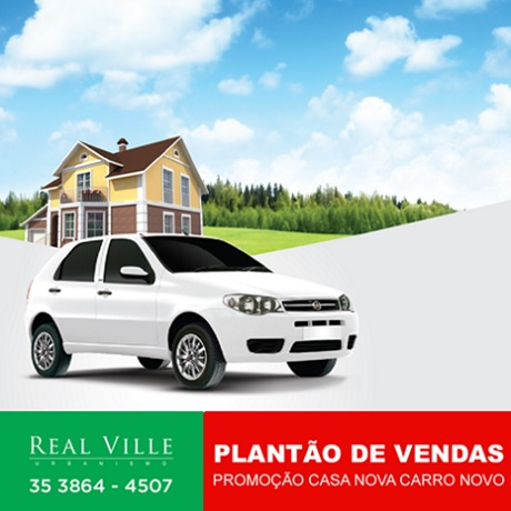Promoção Casa Nova Carro Novo