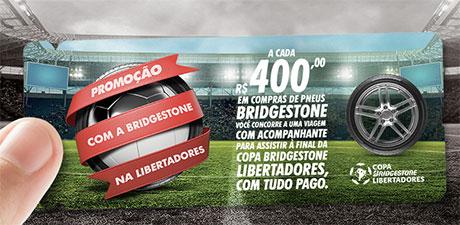 Promoção Com A Bridgestone Na Libertadores