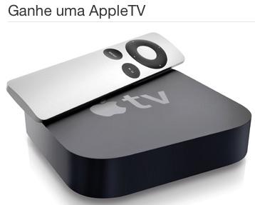 Promoção Ganhe Uma Appletv
