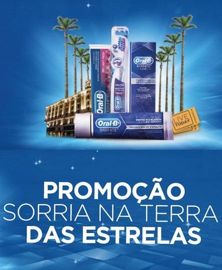 Promoção P&g Sorria Na Terra Das Estrelas