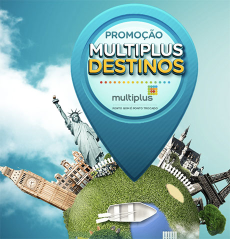 Promoção Multiplus Destinos