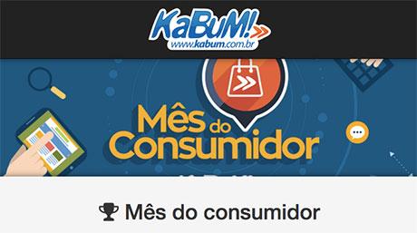 Promoção Kabum Mês Do Consumidor