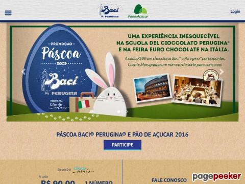 Promoção Páscoa Baci Perugina E Pão De Açúcar