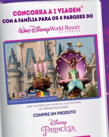Promoção História De Princesa Disney