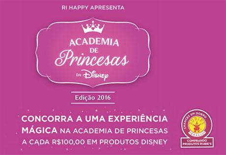 Promoção Ri Happy Academia De Princesas Da Disney