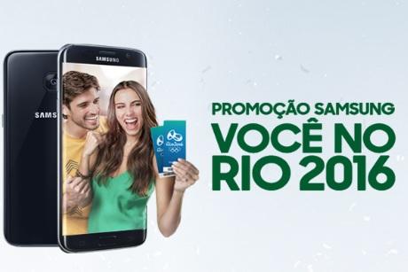 Promoção Samsung Você No Rio 2016