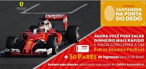 Promoção Santander Na Ponta Do Dedo