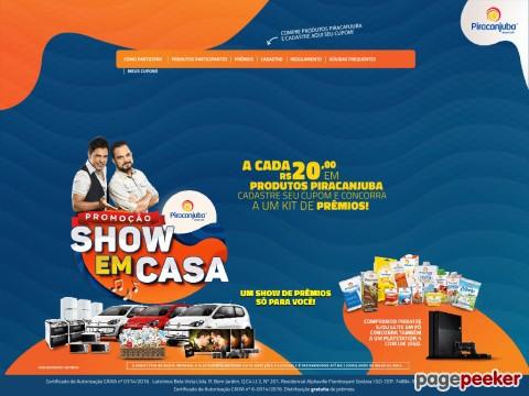 Promoção Piracanjuba Show Em Casa