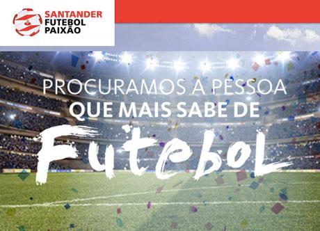 Promoção Santander Futebol Paixão 2016