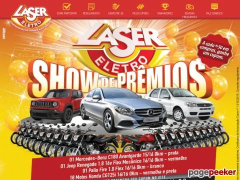 Promoção Show De Prêmios Laser