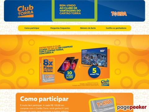 Promoção Clube De Vantagens Cartão Torra Torra