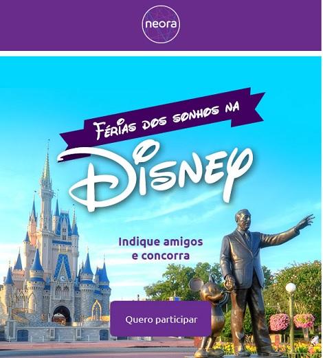 Promoção Férias Dos Sonhos Na Disney