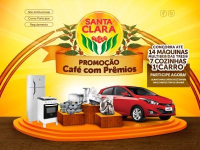 Promoção Santa Clara Café Com Prêmios