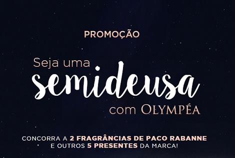 Promoção Seja Uma Semideusa Com Olympéa