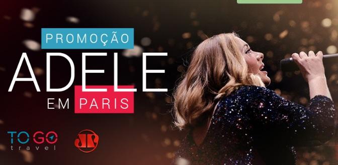 Promoção Adele Em Paris