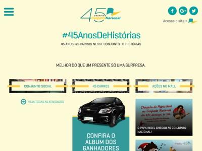 Promoção 45 Anos Conjunto Nacional