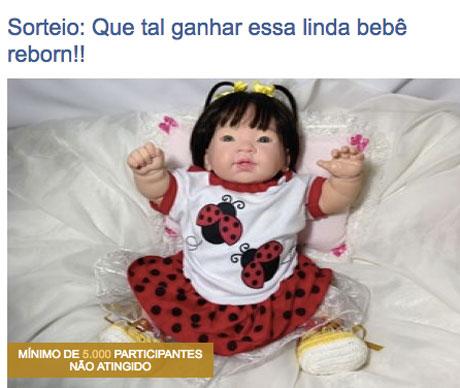 Promoção Que Tal Ganhar Essa Linda Bebê Reborn