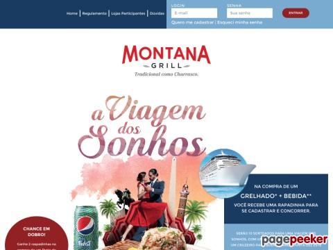 Promoção Viagem Dos Sonhos Montana Grill
