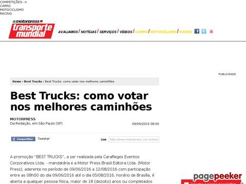 Promoção Best Trucks