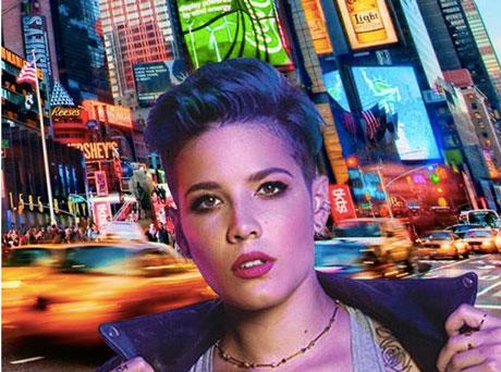 Promoção Mix Fm Halsey Em Nova York