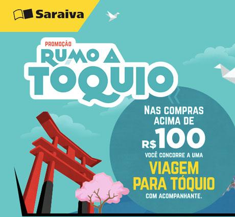 Promoção Rumo A Tóquio Saraiva