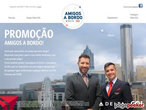 Promoção Amigos A Bordo Delta E Gol