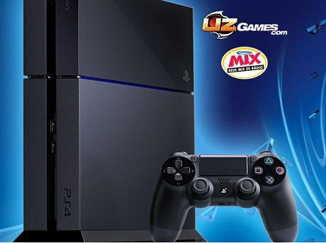 Promoção Mix E A Uz-games Vão Te Um Playstation 4