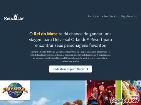 Promoção Rei Do Mate Leva Você Aos Parques Universal Orlando
