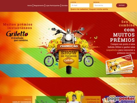 Promoção Show De Prêmios Griletto
