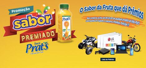 Promoção Sabor Premiado Suco Prats