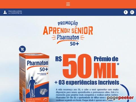Promoção Aprendiz Sênior Pharmaton 50+
