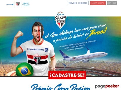 Promoção Copa Pasion