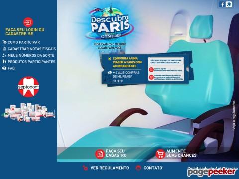 Promoção Descubra Paris Com Septodont