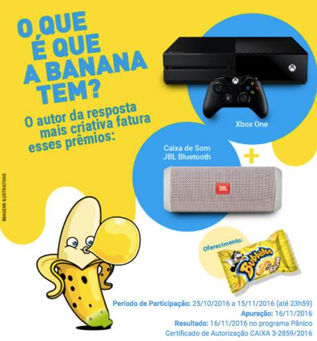 Promoção O Que É Que A Banana Tem?