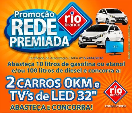 Promoção Rede Premiada Rio Branco