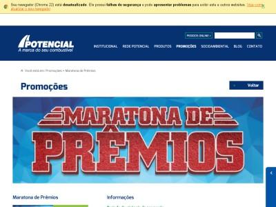 Promoção Maratona De Prêmios Potencial