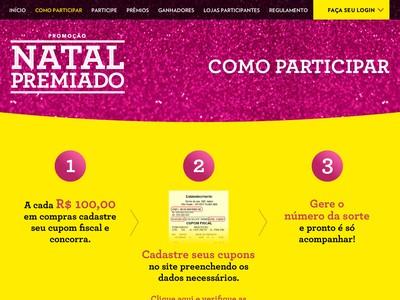 Promoção Natal Premiado Marisa