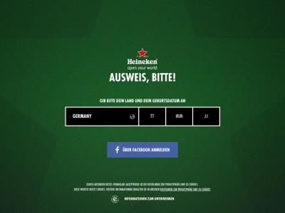 Promoção Heineken Champion The Match