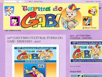 Concurso Cultural Da Turma Do Gabi Â?? Desenho