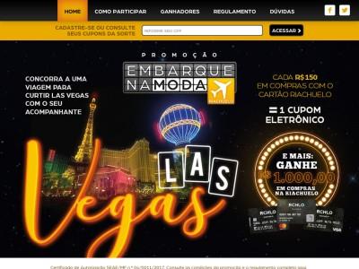 Promoção Riachuelo Embarque Na Moda Para Las Vegas