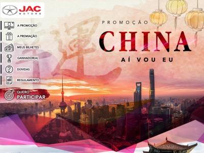 Promoção Jac Motors China Aí Vou Eu