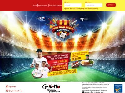 Promoção Griletto Vai Dar Jogo Na Espanha